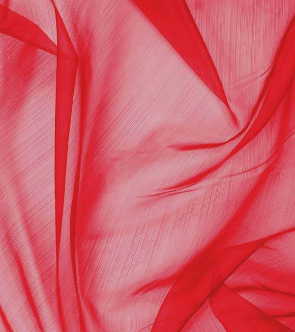 Chiffon - Red - 150cm Wide - Red