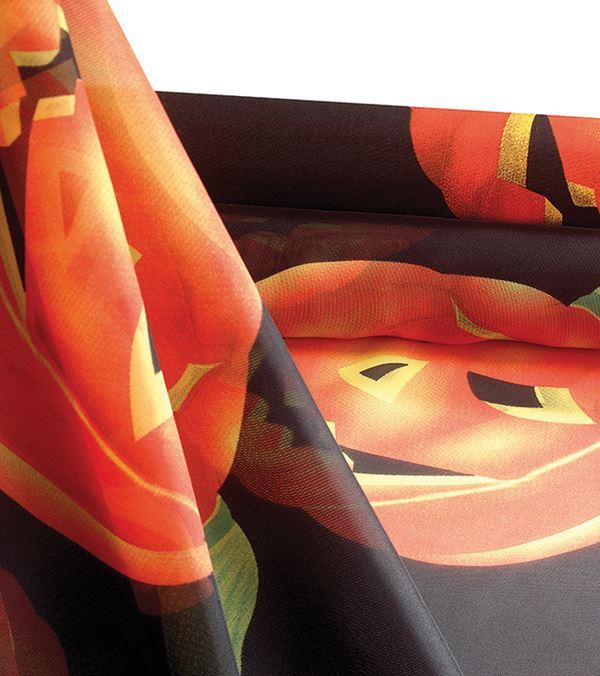 Halloween Voile - 150cm Wide - Multicolour