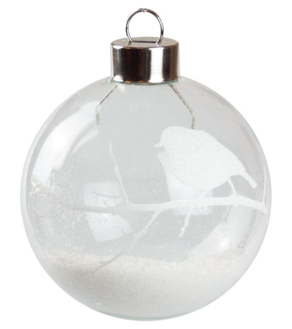 Robin Silhouette Baubles