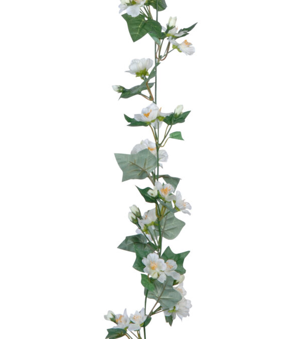 Blossom and ivy garland