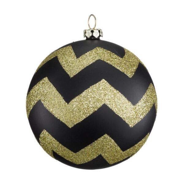 Black and Gold Bauble
