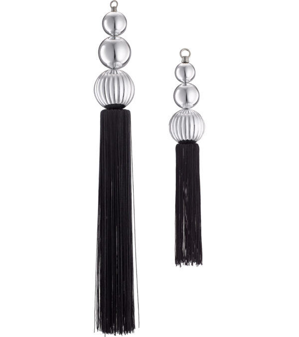Bauble Tassels - Silver and Gold