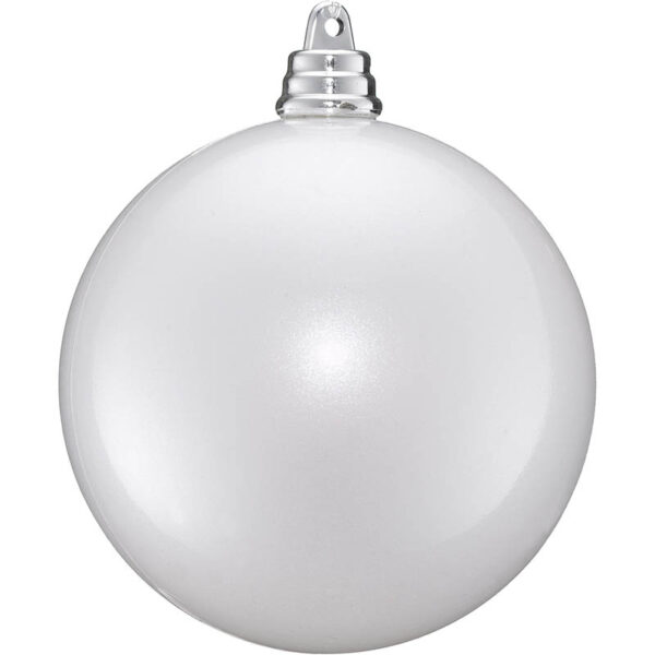 pearl white bauble