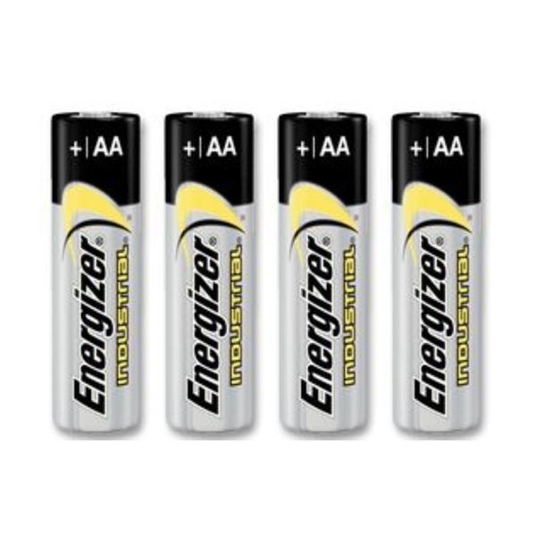 Energizer Industrial AA Batteries - 4 Pack