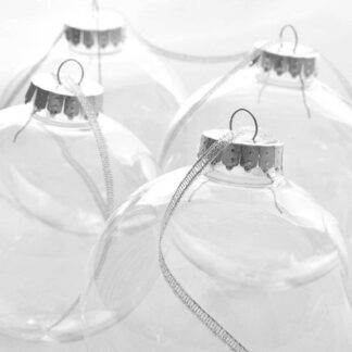 clear baubles together