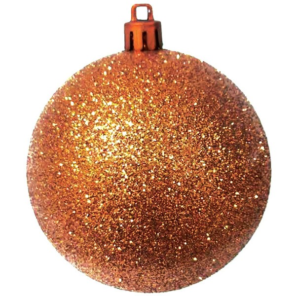 Traditional Glitter Baubles