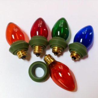 grommets for outdoor garden lights