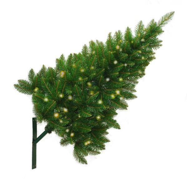 Street Display Christmas Trees with Lights