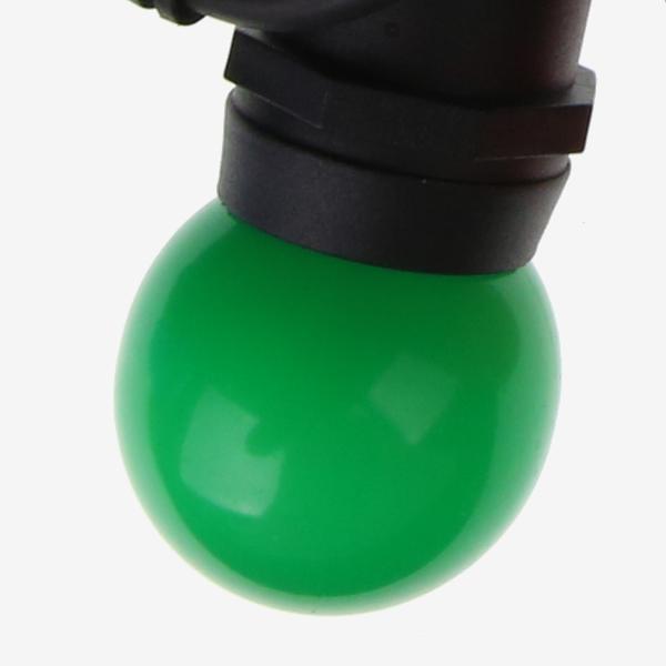 Green Festoon Lights