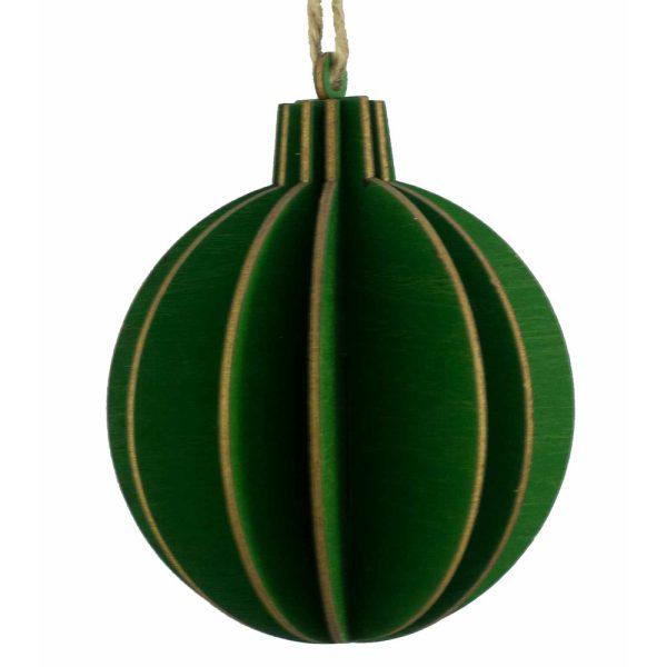 Wooden Ball Decoration