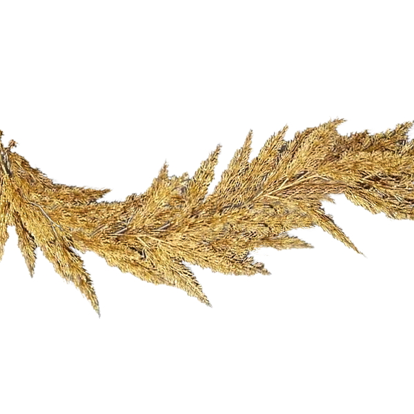 Gold cedar garland - 180cm