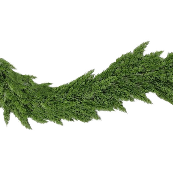 Green Cedar Christmas Garland - 180cm