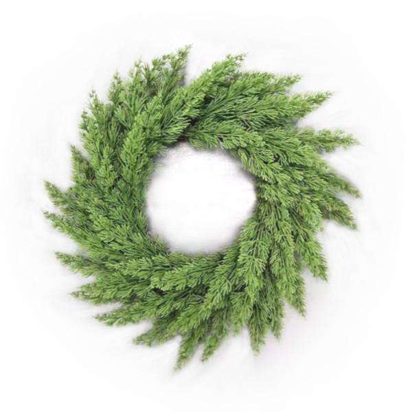 Green Cedar Wreath - 60cm