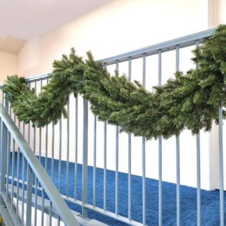 "Ruthven Pine Plain Christmas Garland 9ft (270cm) x 12"" (30cm)"