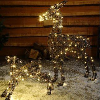 Wicker Deer