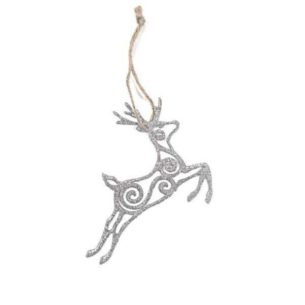 Eco Glitter and Woodfibre Reindeer